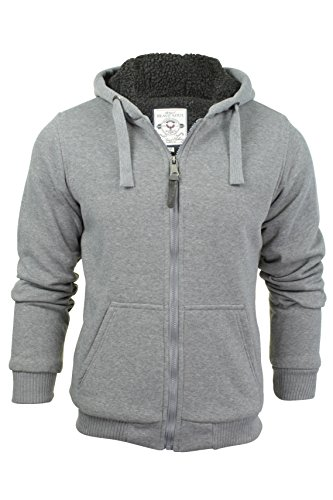 Zone Grey, XX-Large - Mens Brave Soul Zone Zip Up