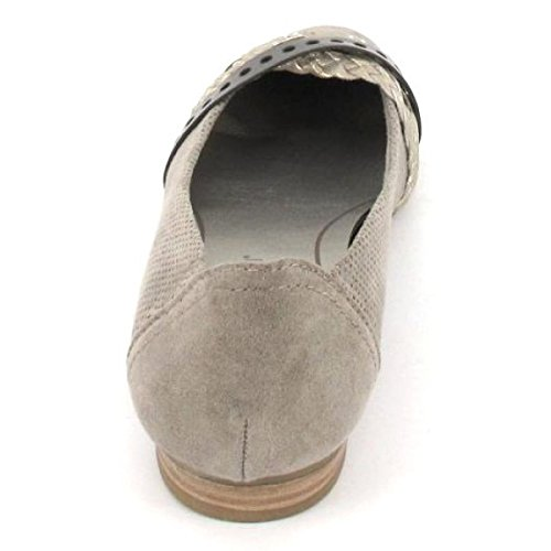 Marco Tozzi 2-22100-28-344, Ballerine donna grigio grau Grau