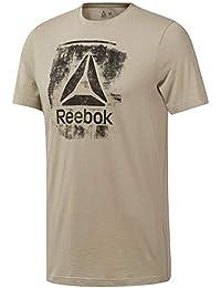 4a29200d0d50 Reebok GS Stamped Logo Crew - Men s Sports T-Shirt - DU4679