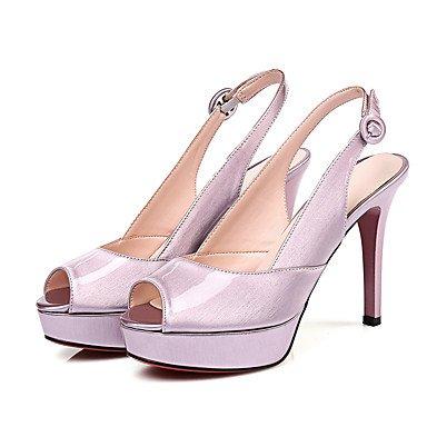 LvYuan Sandalen-Büro Kleid Party & Festivität-PU-Stöckelabsatz-Club-Schuhe-Grün Rosa Pink