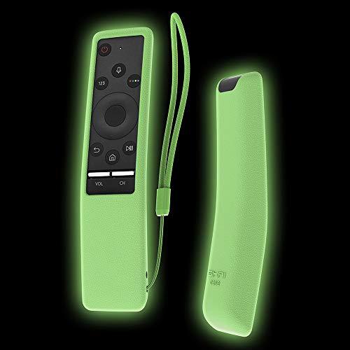 nung Hülle SIKAI Tropfen schützende Silikon Hülle für Samsung BN59-01241A Smart TV Fernbedienung Hülle Anti-Rutsch Case Cover MEHRWEG (Fluoreszierend Grün) ()