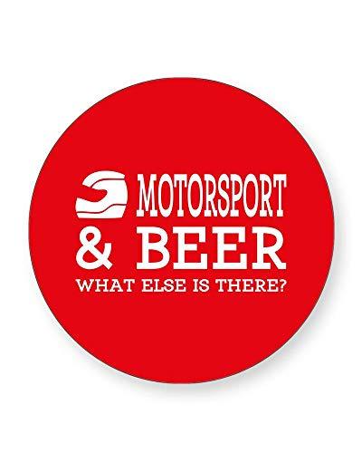 - What else is There? Getränke-Untersetzer Sport - Drinking Humour - einzeln oder als 4er Pack - quadratisch oder rund, ROUND Individual ()