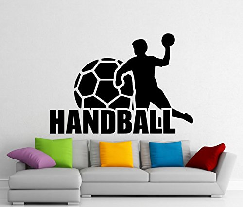 Handball Wand Vinyl Aufkleber Sport Aufkleber Home Interior Wandmalereien Art DEKORATION