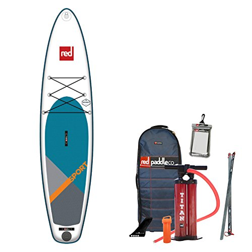 "41evP0hk5oL. SS500  - Red Paddle Unisex's SPORT 11'0"" MSL Sup, Multicolor, One Size"