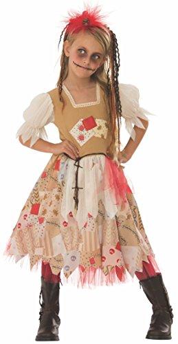 Haunted House Kostüm Voodoo Girl Inf, Mehrfarbig (Rubies 641246-L) (Voodoo Child Kostüm)