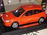 Ford Focus St170 St 170 Rot Orange 1/24 Bburago Burago Modellauto Modell Auto