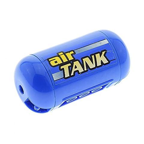 1 x Lego Pneumatic Lufttank blau Airtank Kessel Tank Technic Druckbehälter Pneumatik Sticker air TANK horizontal Set 8439 8459 8464 67c01pb03