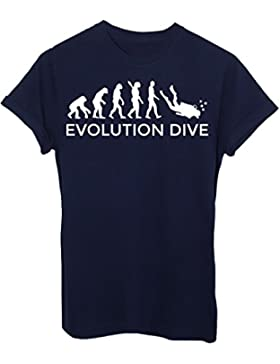 T-Shirt EVOLUZIONE SUB IMMERSIONI DIVE SPORT - EVOLUTION - by iMage