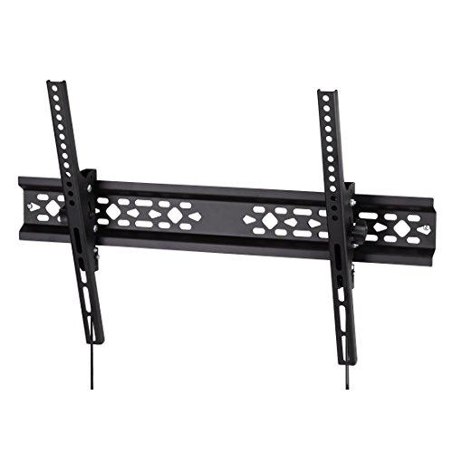 Flashstar TV-Wandhalterung für Samsung (50, 55, 65, 75 Zoll) Fernseher (max. 75 kg) VESA Standard 50x50 - 600x400, Bildschirmdiagonale 127-19, schwarz (Für 19-tv Wandhalterung)