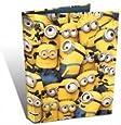 A4 Many Minions Ring Binder Folder