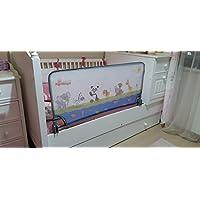 Agubugu Baby AGU-105-120 Hayvan Desenli Katlanabilir Yatak Bariyeri, 120cm