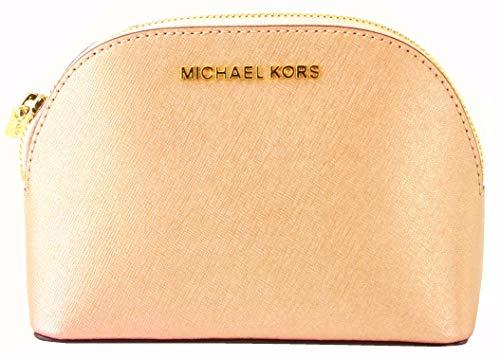 Michael Kors in pelle saffiano make up bag di viaggio della