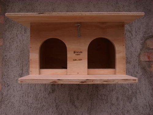 piccionaia für Tauben Normale Größe Blitzen Original made in Italy 100% (Taubenhaus)