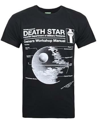 Official Haynes Manual Star Wars Death Star Men 39 S T Shirt