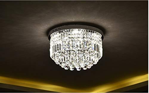 Plafoniere Cristallo Bagno : Moderno cristallo trasparente goccia di pioggia lampadario