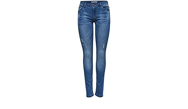 JACQUELINE de YONG Jeans Jeanshose JDYSKINNY Regular Waist Charlene 15144823
