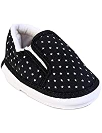 CHiU Chu-Chu Sound Star Pattern Black Shoes Baby Girl & Baby Boy