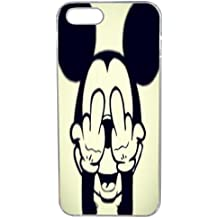 Lapinette COQUE-5G-MICKEY-FUCK - Funda para Apple iPhone 5/5s, diseño Disney Mickey Fuck