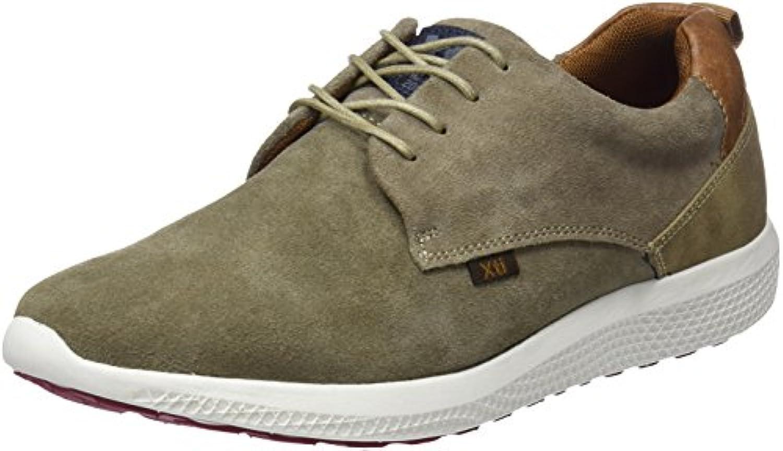 XTI Herren 47173 Slip on Sneaker  Braun Taupe  45 EU