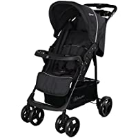 BabyGo Fußsack BIG für Buggy und Kinderwagen schwarz NEU