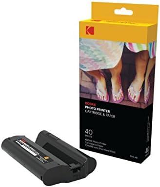 Kodak aplique y cartucho impresión fotográfica PHC y Wi-Fi. Recarga de cartucho y hojas de fotos