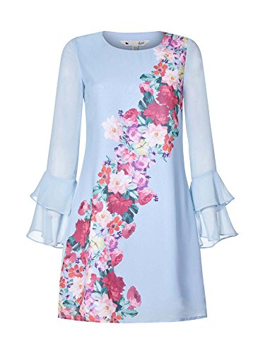 Watercolour Rose Placement Tunic Dress