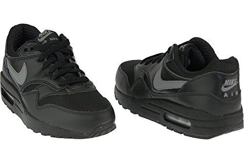 Nike Air Max 1 Gs Scarpe Sportive, Unisex Bambino Black Black
