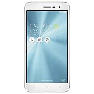 "Asus ZenFone 3 Smartphone, Dual SIM, Display da 5.2"", Memoria Interna da 64 GB, 4 GB RAM, Bianco [Italia]"