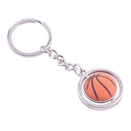 TOYMYTOY Baloncesto Metal Key Ring 3D Deportes Llavero