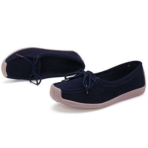 Chaussures Hishoes Plate Mocassins Femmes Profond Conduite De X5R6w8p8q