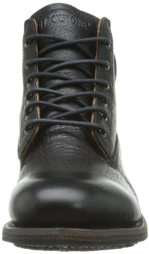 Blackstone MID LACE UP GM09 Herren Chukka Boots Schwarz (Black)