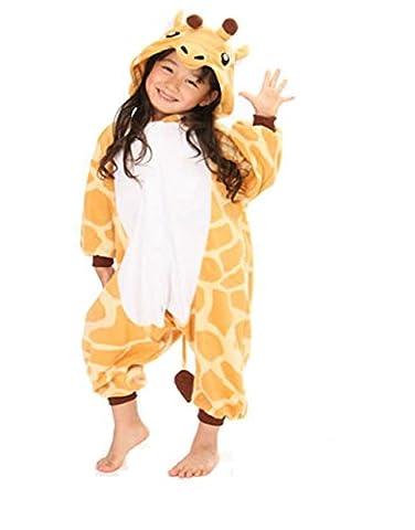 Koo-T - Grenouillère - Fille multicolore Girafe