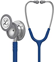 3M Littmann Classic III Monitoring Stethoscope, Navy Blue Tube, 27 inch, 5622