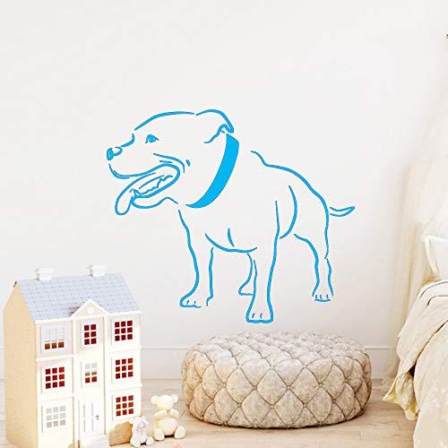 xingbuxin Divertente Adesivo da Parete per Cani Accessori per la Decorazione Domestica per Soggiorno Adesivi murali Vinili Murali 3 XL 58cm X 67cm