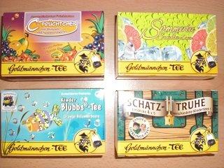 Goldmännchen Tee - Überraschungspaket (5er-Pack)