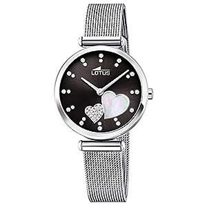 Lotus Reloj Analógico para Mujer de Cuarzo con Correa en Acero Inoxidable 18615/4