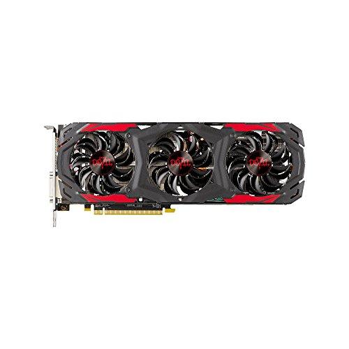 PowerColor AMD ATI Radeon PCI-E RX 570 Red Devil 4 GB DDR5 HDMI/3xDP Graphics Card - Grey