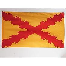 BANDERA de ESPAÑA TERCIOS MORADOS VIEJOS 150x90cm para palo - BANDERA EJERCITO ESPAÑOL 90 x 150 cm - AZ FLAG