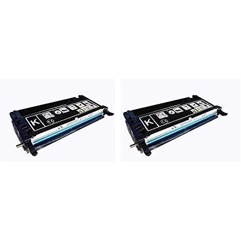 Cool Toner XXL JUMBO 8000 Page para 593-10170 cartucho de Toner Compatible para Dell 3110 3110CN MFP 3115CN ,Negro, 2-Pack