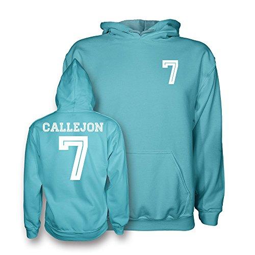 CALLEJON 7Napoli stile bambini cappuccio 15/16(Celeste/Bianco) Sky XL