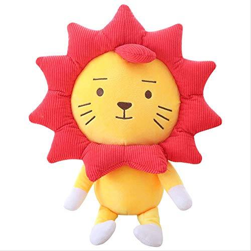 heytoy Weiches Spielzeug Plüschtier Puppe Ragdoll Ragdoll Lion King Weiches Spielzeug Sonne Blume Löwe Cub Sonnenblume Cartoon Puppe 25 cm -