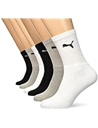 Puma Sports Socks Cush Crew (6 Pair Pack)