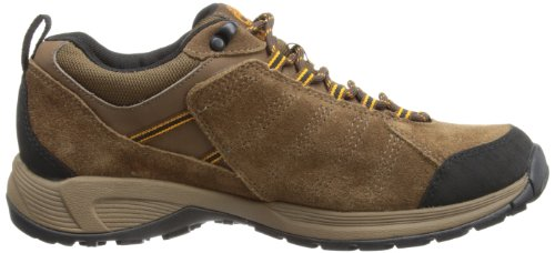 Timberland Tilton Low Leather GTX, Messieurs de trekking et randonnée chaussures Marron foncé