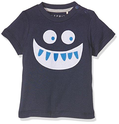 ESPRIT Baby-Jungen T-Shirt RJ10132, Blau (Navy 490), 86