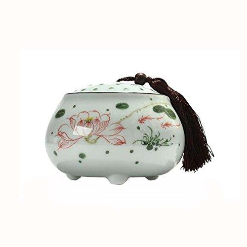 Chinesische Keramik Tee Gläser Kaffee Dosen Vorratsgläser Reisen Tee Dosen