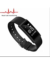Fitness Tracker Pulsuhren Fitness Armband Bluetooth Smart Armband,Sitzender Alarm,sport uhr sweatproof Bluetooth,HD Touch Screen,HD Touch Screen smart bracelet,Elegantes aussehen für iPhone Samsung Smartphone