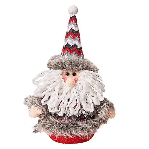 Handgemachtes Sankt-Stoff-Puppen-Geburtstags-Geschenk FüR Dekoration Weihnachten Weihnachtsdekoration Handwerk Geschenk -