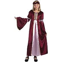 Disfraz de niña de Princesa Medieval del Renacimiento. 10 - 13 años