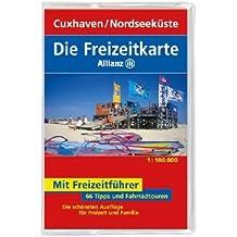 Die Allianz Freizeitkarte Cuxhaven, Nordseeküste 1:100 000