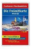 Die Allianz Freizeitkarte Cuxhaven, Nordseeküste 1:100 000 -